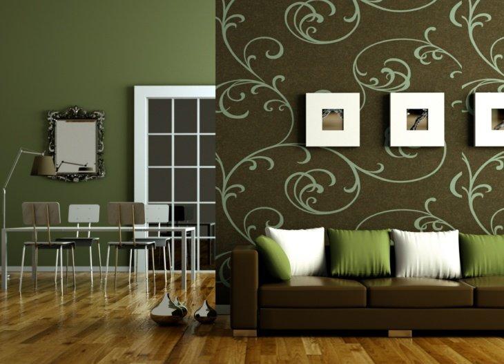 Как подобрать обои в зал? Выбор материала и цветового решение