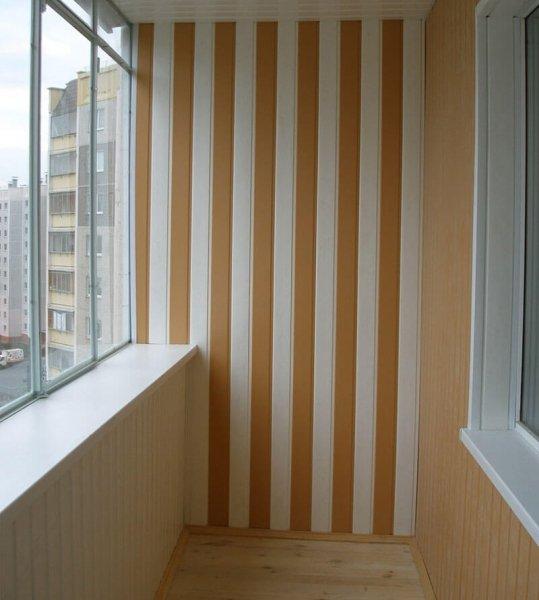 Красивый пластиковый балкон своими руками