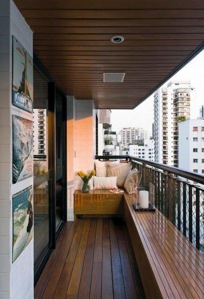 Советы по отделке балкона внутри своими руками