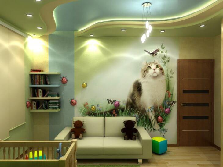 Картины для детской комнаты на стену. Творческие решения