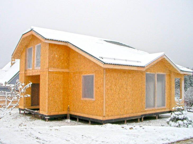 Строим дом своими руками из СИП панелей
