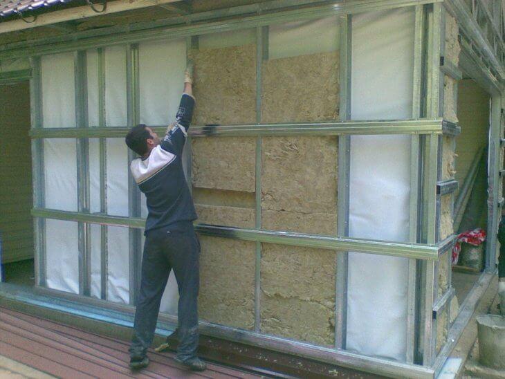 Утепление дома снаружи минватой под сайдинг. Особенности материала и технология выполнения работ своими руками