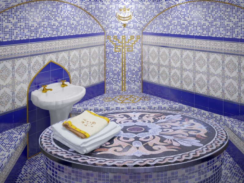 Современные бани: качественная отделка от пола до потолка