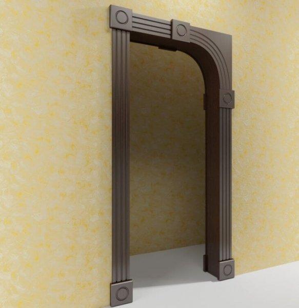 Преимущества МДФ панели для дверей и арки